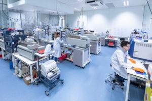 Les laboratoires de DMPK d'Oncodesign